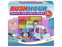 Thinkfun Rush Hour Junior Das bekannte Logikspiel fuer juengere Kinder ab 5 Jahren
