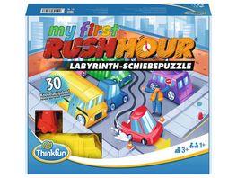 Thinkfun Rush Hour My first Rush Hour Das bekannte Stau Spiel fuer Kinder ab 3 Jahren