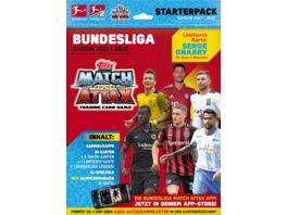 Topps Bundesliga Match Attax Starterpack 2021 2022