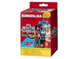 Topps Bundesliga Match Attax Spielset fuer Unterwegs 2021 2022