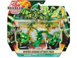 Spin Master Bakugan VENTUS GEOGAN ATTACK 3ER PACK