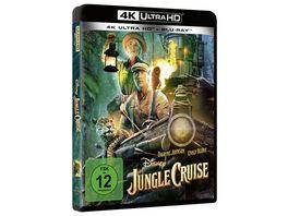 Jungle Cruise 4K Ultra HD Blu ray 2D