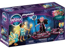 PLAYMOBIL 70803 Adventures of Ayuma Crystal Fairy und Bat Fairy mit Seelentieren