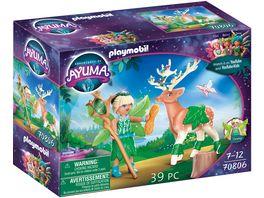 PLAYMOBIL 70806 Adventures of Ayuma Forest Fairy mit Seelentier