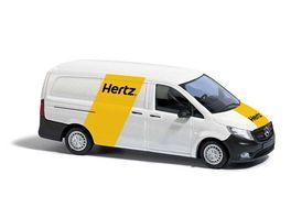 BUSCH 51198 1 87 MB Vito Autovermietung Hertz