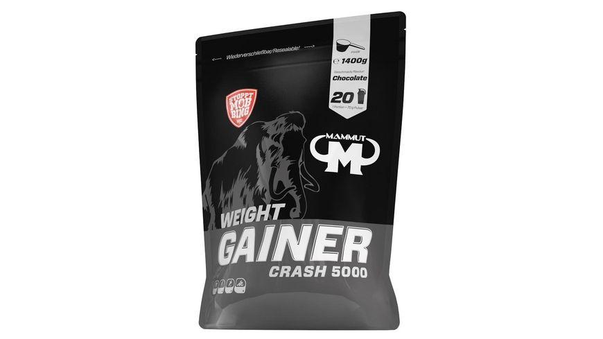 Mammut Weight Gainer Crash 5000 - Chocolate