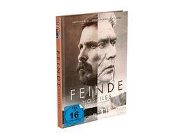 Feinde Hostiles 2 Disc Mediabook Cover A 4K UHD Blu ray Limited 999 Edition