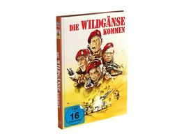 Die Wildgaense kommen 2 Disc Mediabook Cover A Blu ray DVD Limited 999 Edition Uncut