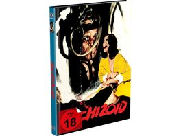 Schizoid 2 Disc Mediabook Cover A Blu ray DVD Limited 999 Edition Uncut