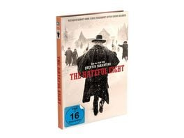 The Hateful 8 2 Disc Mediabook Cover B Blu ray DVD Limited 999 Edition