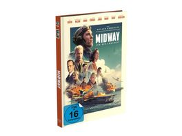 Midway Fuer die Freiheit 2 Disc Mediabook Cover A 4K UHD BD Limited 999 Edition Uncut