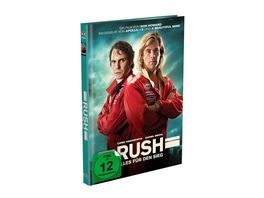Rush Alles fuer den Sieg 2 Disc Mediabook Cover A Blu ray DVD Limited 999 Edition Uncut