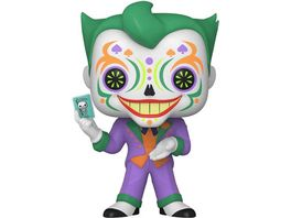 Funko POP Batman Joker Dia De Los DC Glow Vinyl