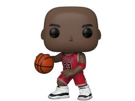 Funko POP NBA Bulls Michael Jordan Red Jersey 10 Vinyl