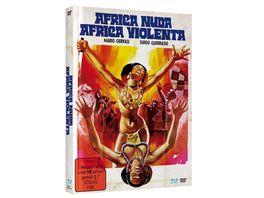 Africa Nuda Africa Volenta Mediabook Cover A Limited Edition auf 500 Stueck DVD