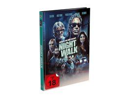 Night Walk 2 Disc Mediabook Cover A Blu ray DVD Limited 999 Edition Uncut