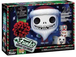 Funko POP Disney The Burtons The Nightmare Before Christmas Pocket Pop Adventskalender