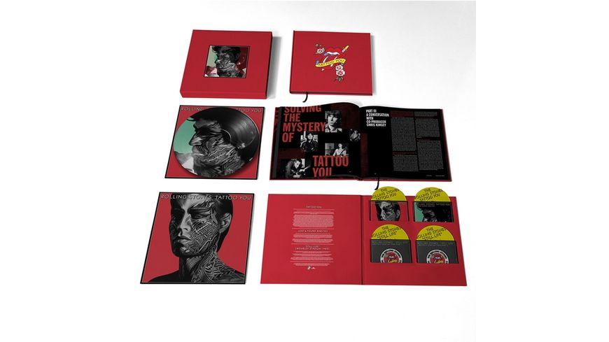 Tattoo You-40th Anni.(Ltd.4CD+Picture LP Box)