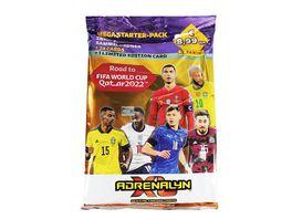 Panini Road to FIFA WORLD CUP Qatar 2022 Adrenalyn TC MEGA STARTER PACK