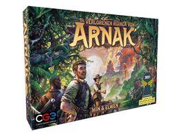 Czech Games Edition Die verlorenen Ruinen von Arnak DEUTSCH