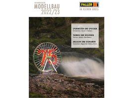 Faller Katalog 2022 2023 mit Preis