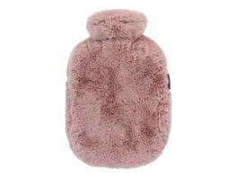 Fashy Waermflasche mit hochwertigem extra softem Flauschbezug