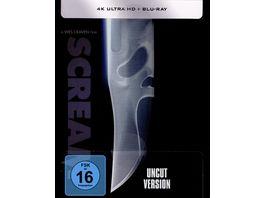 Scream Limitiertes Steelbook Uncut 4K Ultra HD Blu ray 2D