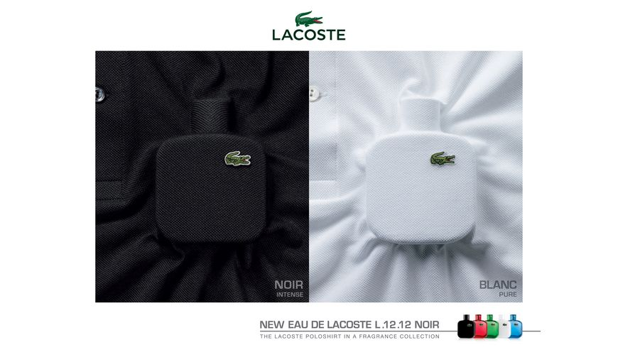 Eau de LACOSTE L 12 12 Noir Eau de Toilette Natural Spray