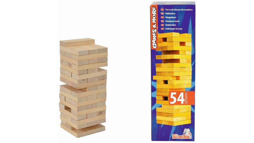 Simba Games and More Wackelturm Holz