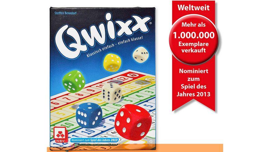 Nürnberger Spielkarten - Qwixx