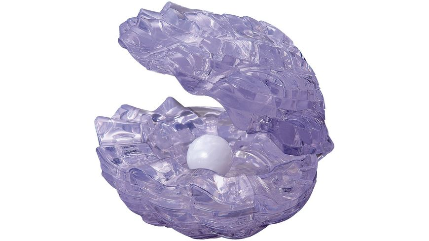 HCM Kinzel Crystal Puzzle Muschel lila