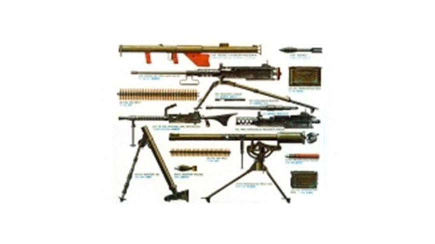 Tamiya - Us Infantry Waffen-Set 300035121