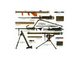Tamiya Us Infantry Waffen Set