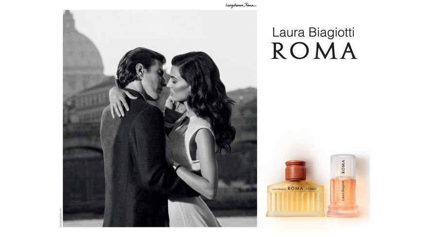 Laura Biagiotti Roma Uomo Eau de Toilette Natural Spray