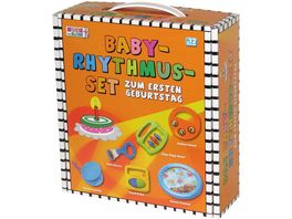 Voggenreiter Musik fuer die Kleinen Das Baby Rhythmus Set zum ersten Geburtstag