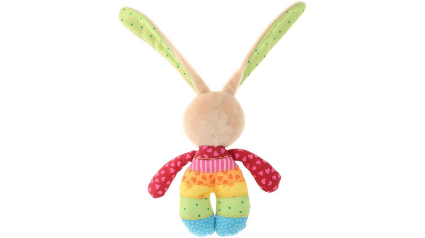 sigikid Rainbow Rabbit Rassel
