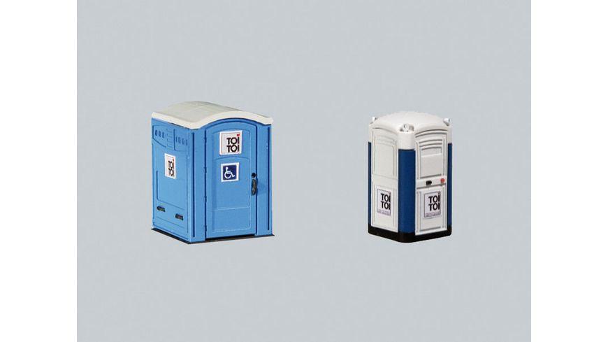 Faller 180543 H0 Mobile Toilettenkabinen TOI TOI
