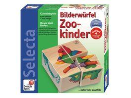 Selecta 62050 Puzzle Zookinder