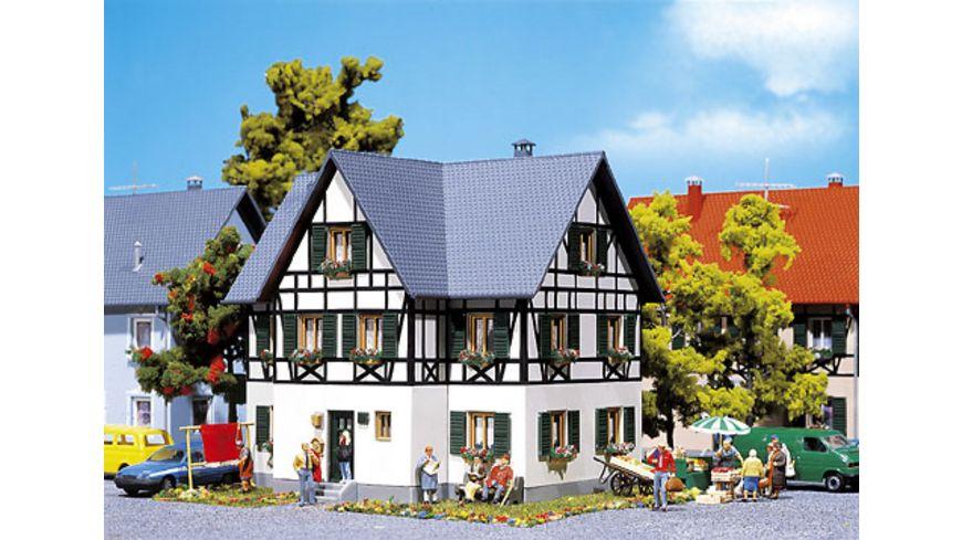 Faller 130259 H0 Zweifamilienhaus mit Fachwerk
