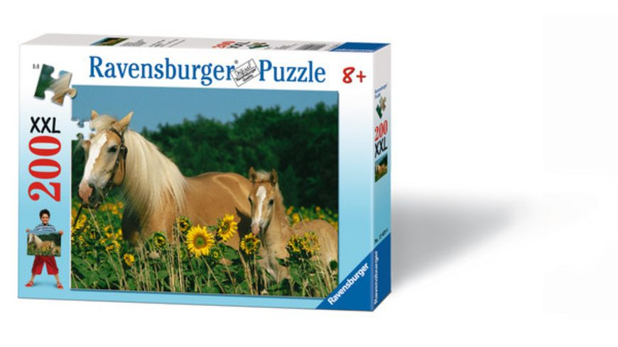 Ravensburger Puzzle Pferdeglueck 200 Teile