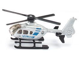 SIKU 0807 Super Polizei Hubschrauber
