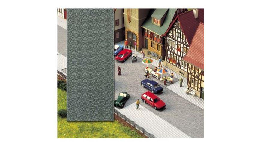 Busch 6031 Modellbahnzubehoer Altstadt Pflasterstrasse