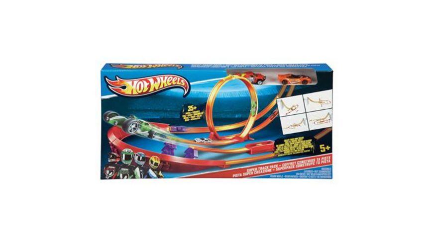 Mattel Hot Wheels Super Track Pack Pistenset