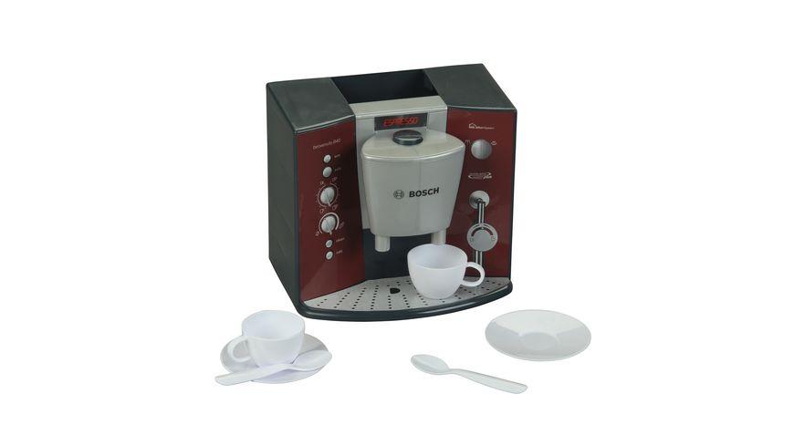 Theo Klein 9569 Bosch Kaffeemaschine mit Sound   Batteriebetriebene Espressomaschine mit realistischen Geräuschen   Maße: 14,5 cm x 19,5 cm x 17 cm   Spielzeug für Kinder ab 3 Jahren