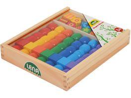 Lena 32010 Super Beads Holzfaedelperlen