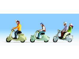 NOCH 36910 Motorrollerfahrer