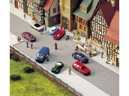 Busch 6032 Modellbahnzubehoer Altstadt Pflaster Platz