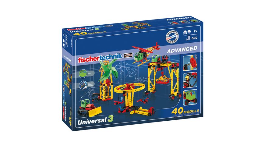 fischertechnik ADVANCED Universal 3 Motor XS