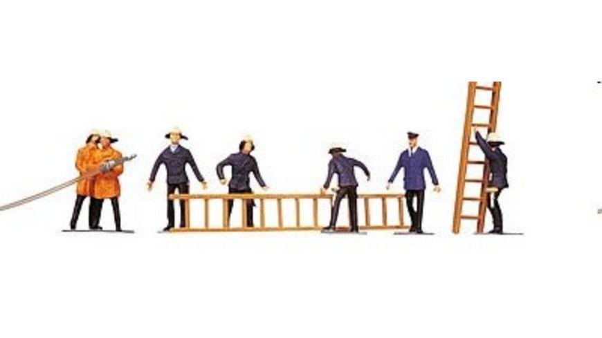Faller 151006 H0 Figuren Feuerwehrleute Zubehoer