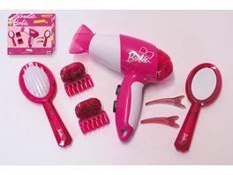 Theo Klein Barbie Frisierset mit Haartrockner